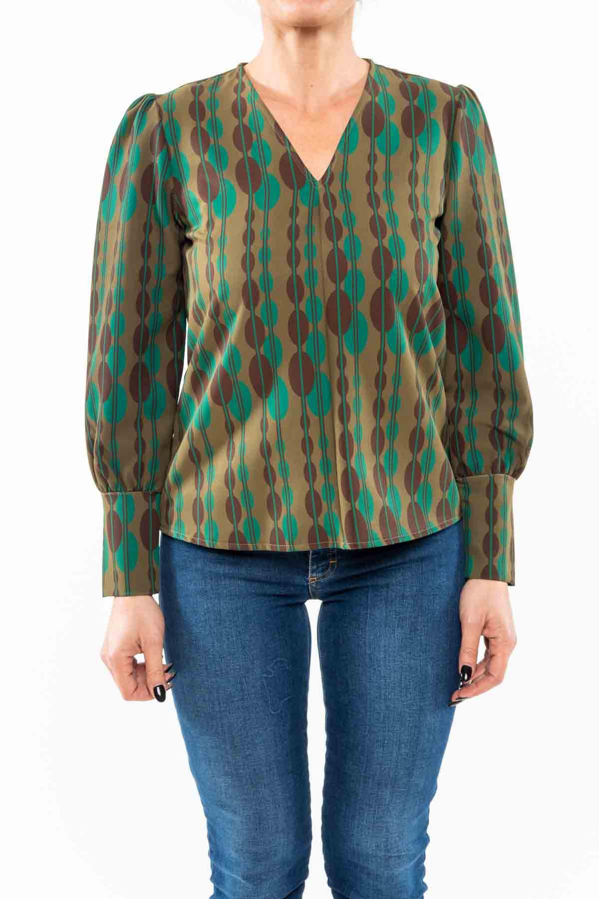blusa,verde